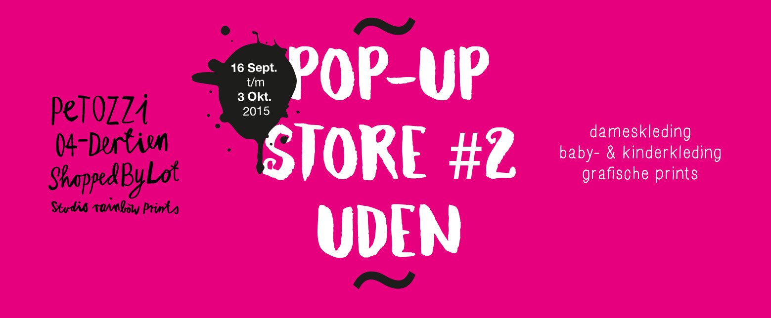 Pop-up shop Uden